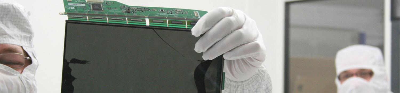 LCD-Elektronik Display und Monitor-Reparatur und Ersatzteilservice