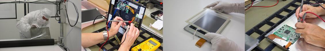 LCD Elektronik - Reparatur Industriemonitor, LC Display und Komponenten