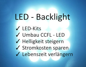 LCD Elektronik - LED-Umrüstung, LED-Backlight Kits, LED-Streifen und Inverter
