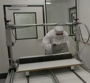 LCD Elektronik Reparatur im Reinraum