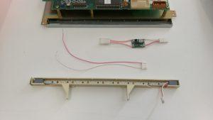 LCD-Elektronik Umrüstung Stromverbrauch senken, größere Helligkeit