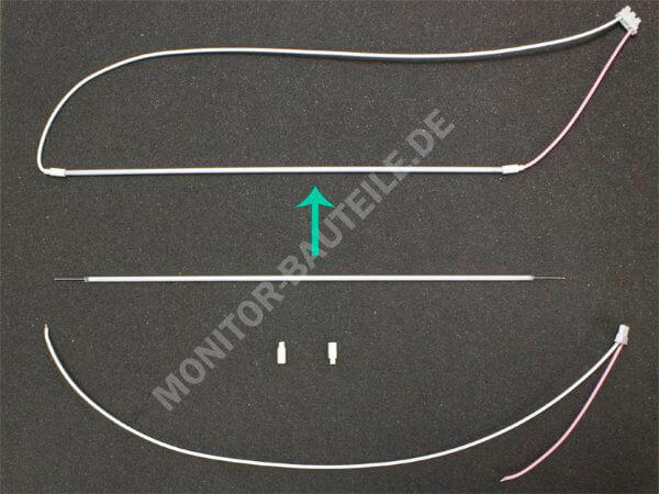 CCFL-Röhren individuell nach Ihren Wünschen fertig konfektioniert im Monitor Bauteile Shop
